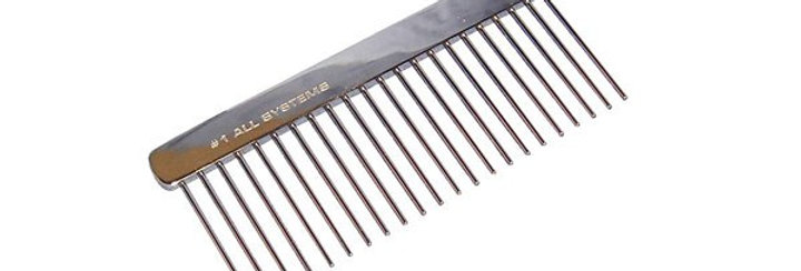 #1 All Systems Metal Comb Fabulous For Breaking Up Mats