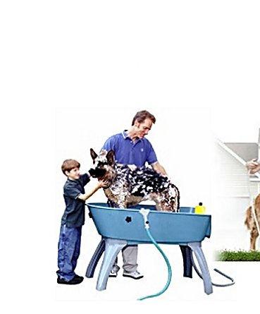 Booster Bath Spray Hose Attachment For Dog Bath