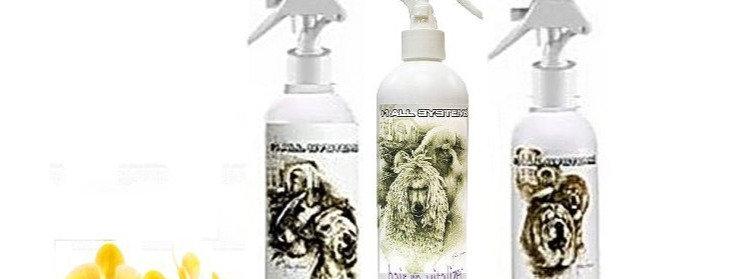 3-D Volumizing . Fabulous Grooming . Anti-Static Finishing Sprays