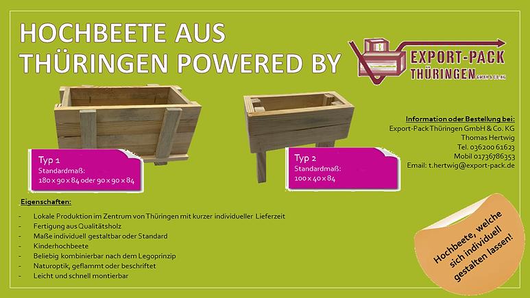 Hochbeete aus Thüringen powered by EP.pn