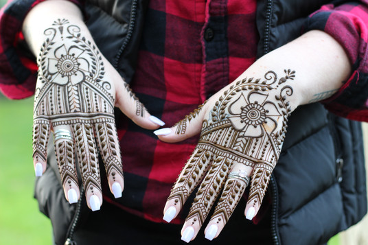 Henna just for fun!