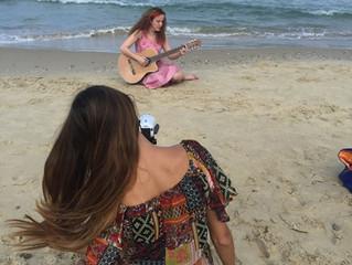 צילומי וידאו  קליפ לשיר Ya salio de la mar !