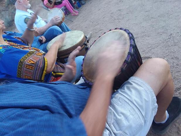 Full Moon Drum Circles