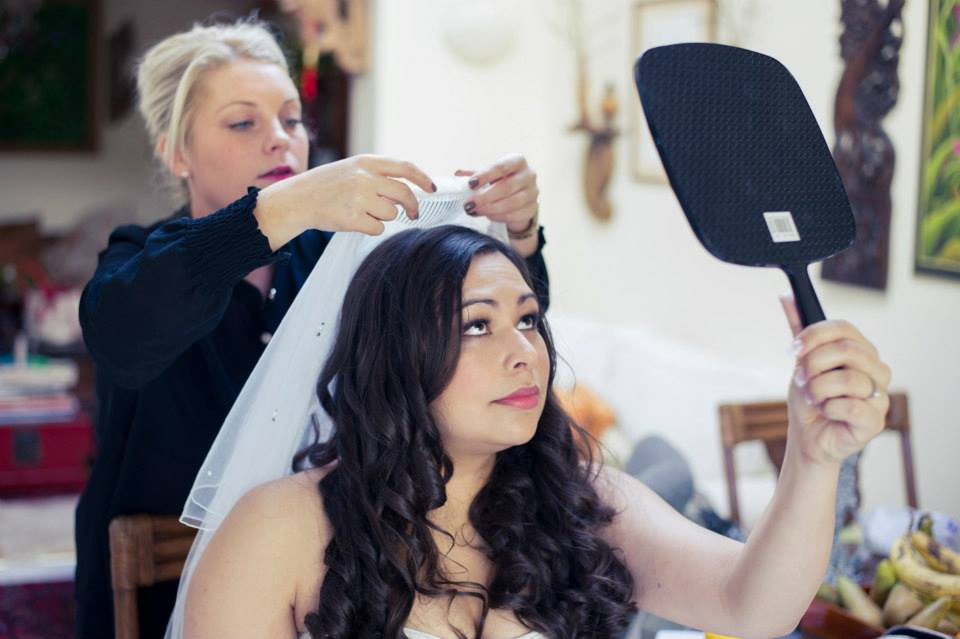 Bride hair & makeup