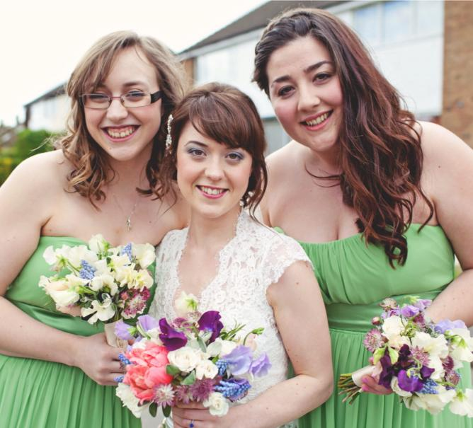 Bride & Bridesmaids Hair & Makeup