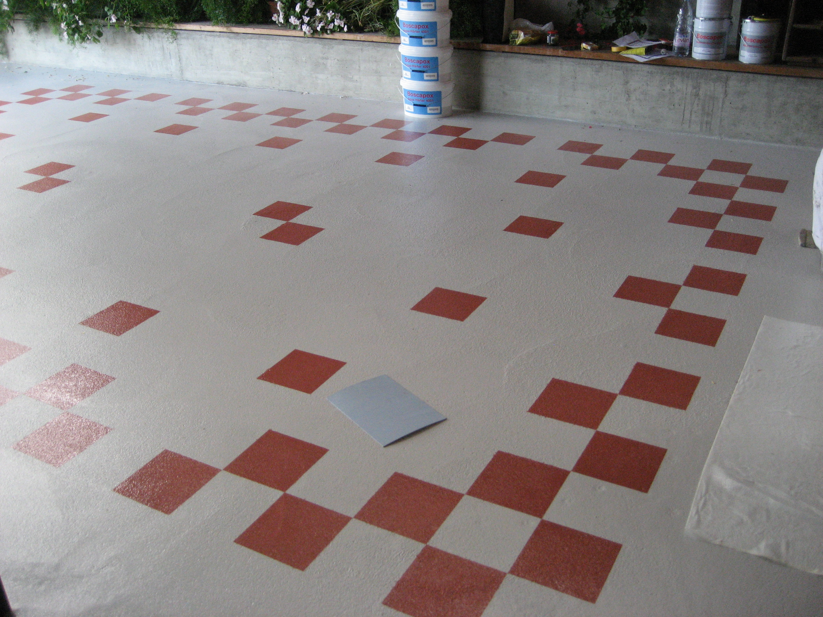 Arranging the tiles