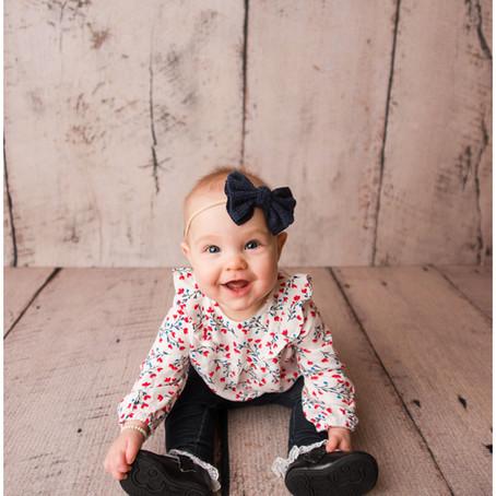 Kate| 6 Month Old Milestone