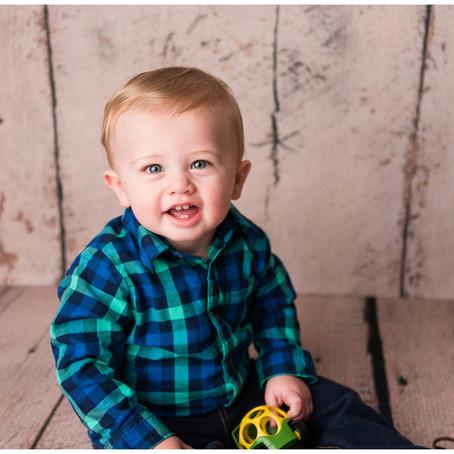 Jackson| One Year Old- Cake Smash