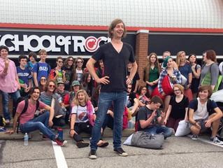 Fringe Family Day is a mind-expanding experience for the kids at School of Rock