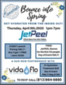JetPeel Non-Touch, Facial