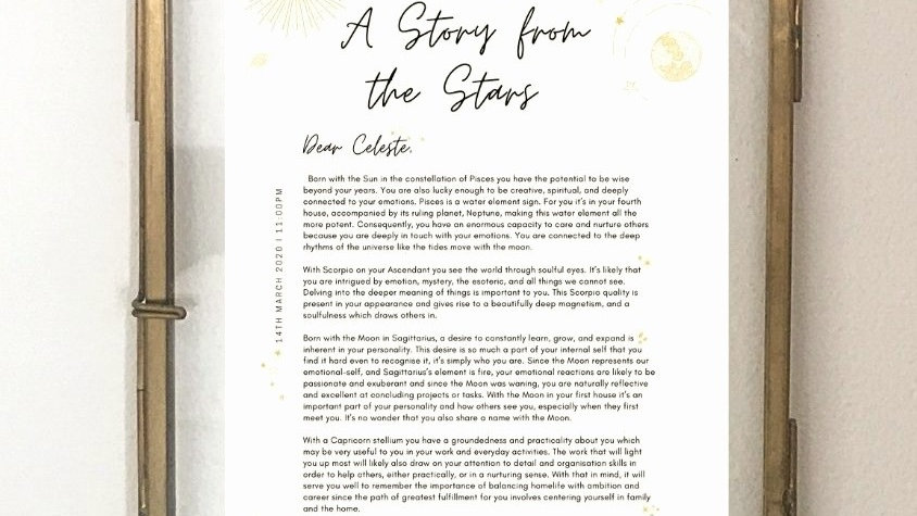 Story from the Stars