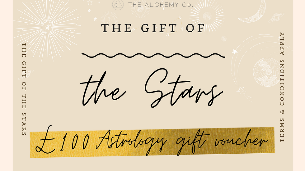 £100 Astrology Gift Voucher