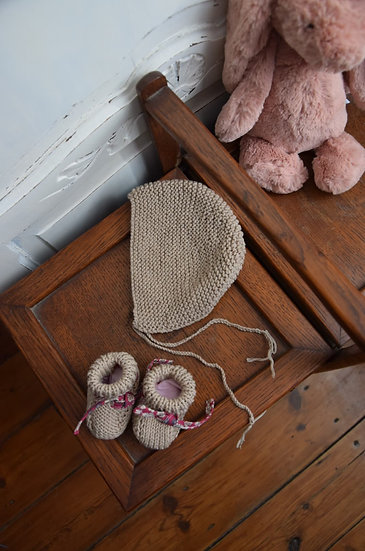 Box naissance tricot