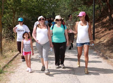 """Caminhada segura na gravidez"""