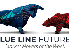 Market Highlights of the Week with Blue Line Futures