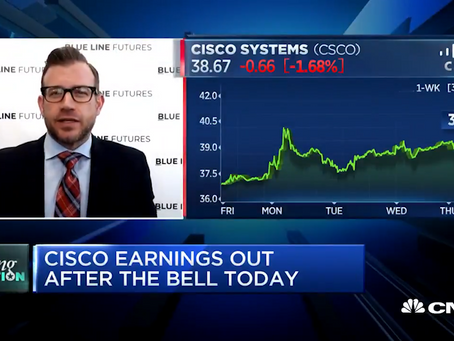 The Cisco Earnings Trade on CNBC's Trading Nation with Bill Baruch