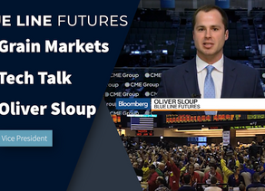 Grain Market Update with Oliver Sloup's Tech Talk   Charts, Funds, and More