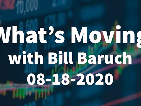 What's Moving | Amazon Chart Action | Apple Bull Flag | Nasdaq Volume Area | China | Bill Baruch