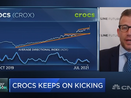 Why CROCS Stock Is Flying | Bill Baruch joined CNBC