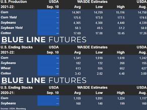 WASDE Report Estimates | Sep. 10, 2021