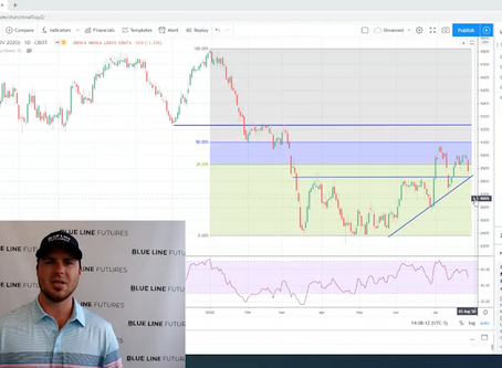 Tech Talk | Soybean Futures Trade | Crop Progress & Technicals | Oliver Sloup, Blue Line Futures
