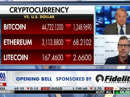 Managing Your Crypto Portfolio | Equity Markets Landscape | Bill Baruch on Fox Business