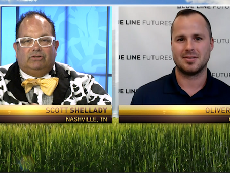 Inflation vs. Deflation in the Ag Markets | Grains and Livestock | Oliver Sloup joined RFD-TV