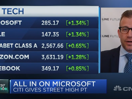 Microsoft With Strong Fundamentals and Technicals | Bill Baruch joined CNBC ahead of Tech Earnings