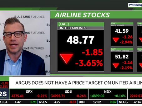Airline Stocks Amidst a 2nd Global Reopening | Bill Baruch