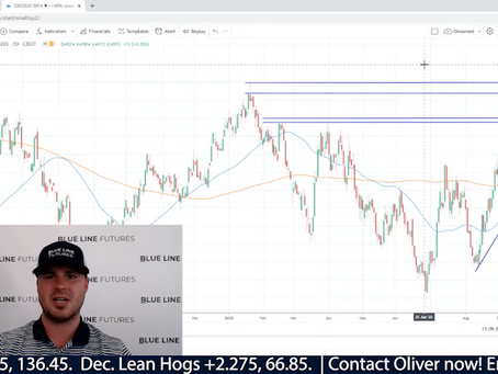 Lean Hog Exports sparking Technical Breakout | Bears in the Wheat Market? | Oliver Sloup