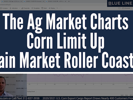 The Grain Market Roller Coaster | Corn Limit Up | Oliver Sloup's Tech Talk