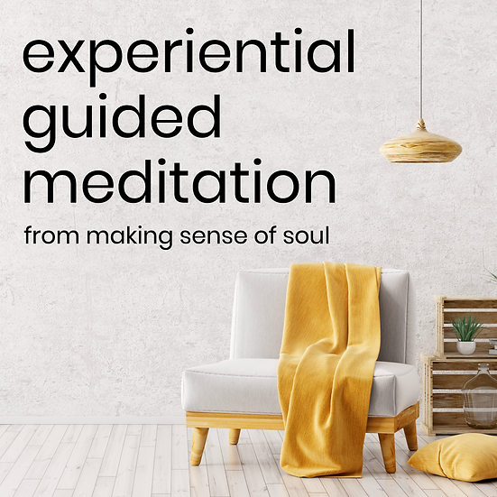 Making Sense of Soul Guided Meditation