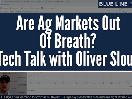 Are Ag Markets Out Of Breath? | Tech Talk with Oliver Sloup