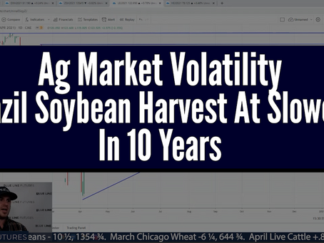 Volatility Is The Name Of Game; Ag Markets | Brazil Soybean Harvest slowest in 10 years | Tech Talk