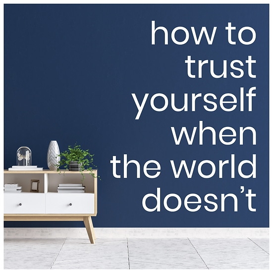 Trust Yourself Guided Meditation