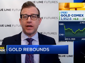 Gold Set To Break Above $2,000 Again | Bill Baruch joined CNBC | Blue Line Futures
