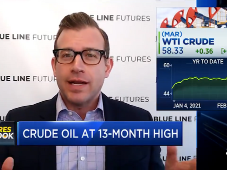The 2008 Downtrend Breakout in Crude Oil | Bill Baruch joined CNBC