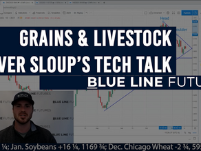 Key Chart Levels for the Grains & Livestock with Oliver Sloup's Tech Talk   Selling from Funds