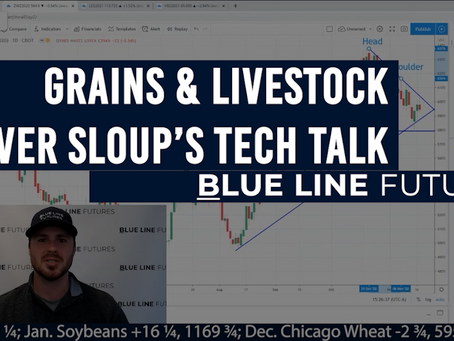 Key Chart Levels for the Grains & Livestock with Oliver Sloup's Tech Talk | Selling from Funds