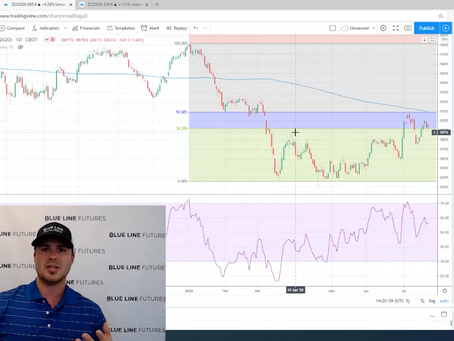 Tech Talk - Oliver Sloup breaks down the charts for lean hogs, soybeans and corn