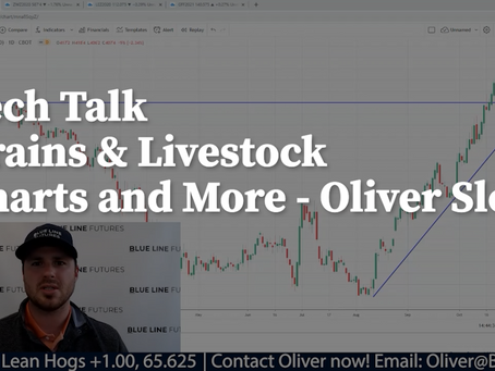 Grain and Livestock Market Charts & More with Oliver Sloup's Tech Talk