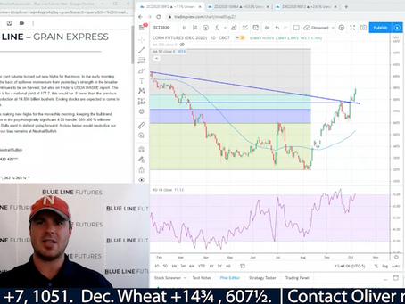 Record Soybean long position | Wheat at levels not seen since 2015 | Oliver Sloup talks Grains