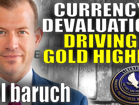 Is A Fed Taper In Sight, Where Are Stocks Headed, And How Does It Impact Metals | Bill Baruch
