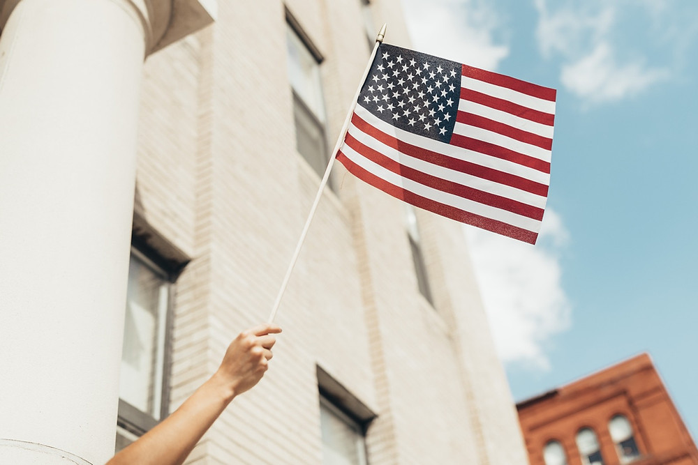 American Flag The Second Paradigm Blog