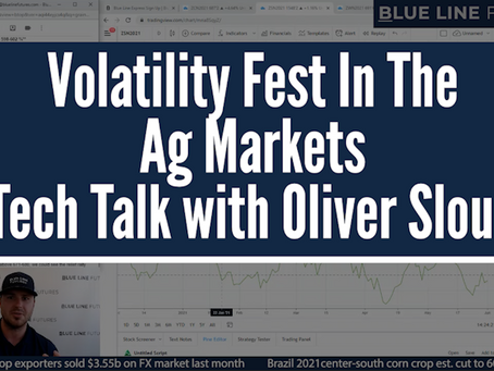 The Volatility Fest In the Ag Markets | Oliver Sloup's Tech Talk