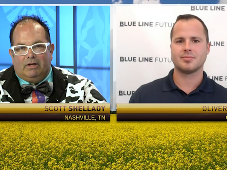 Grain Markets Reacting To Technicals | Neutral Cattle on Feed | Oliver Sloup joined RFD-TV