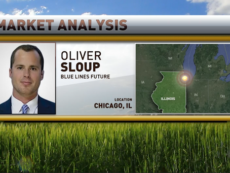 A Stronger Dollar Putting Pressure on the Grains | Cattle on Feed Ahead | Oliver Sloup joined RFD-TV
