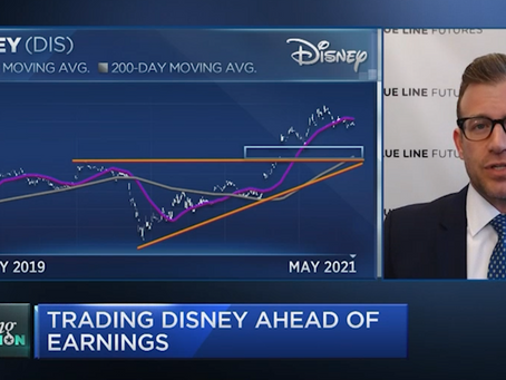 Is There Value In The Disney Stock Amidst Global Economies Reopening | Bill Baruch joined CNBC