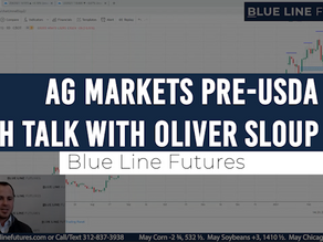 Ag Markets Pre-USDA Next Week | Tech Talk with Oliver Sloup