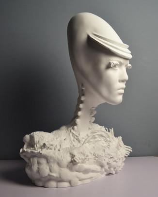 Alien Face - Undisclosed Artist